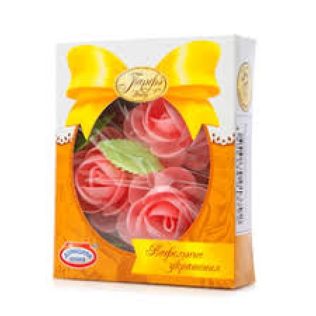 Вафельные цветы с посыпками