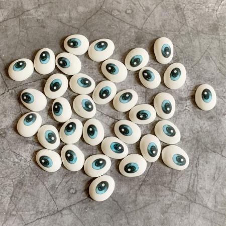 Сахарный декор Глазки голубые, 50 г