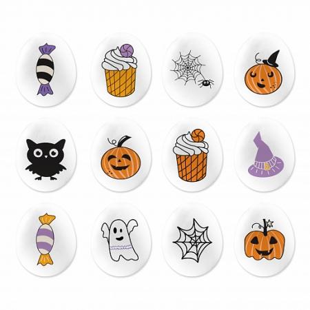 "Сахарный декор мини-медальоны  ""Хэллоуин"" 65 г"