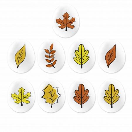 """Сахарный декор мини-медальоны  """"Осень"""" 65 г"""