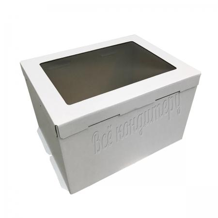 Коробка 30х40х26 см с окном