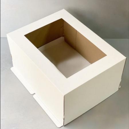 Коробка для торта 30х40х20 см с окном