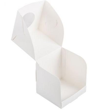Коробка на 1 капкейк с окошком