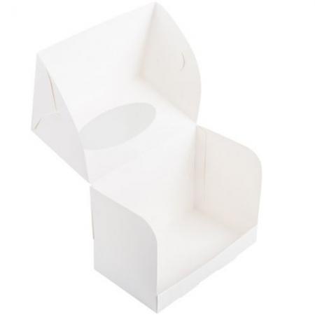 Коробка на 2 капкейка с окошком