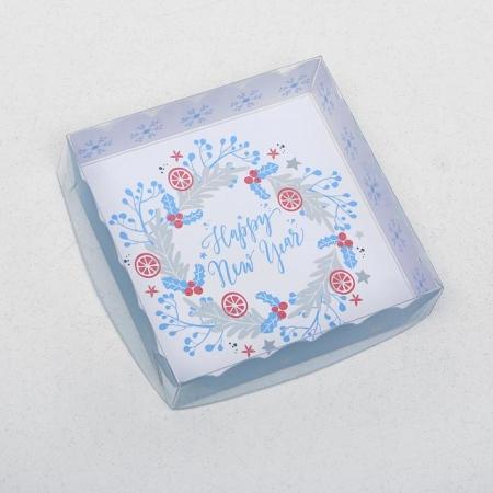 """Коробка для пряников """"Новый год"""""""