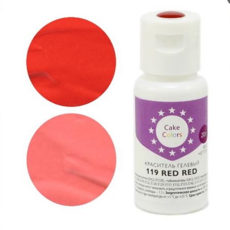 Краситель гелевый Cake Colors RED RED 20 г