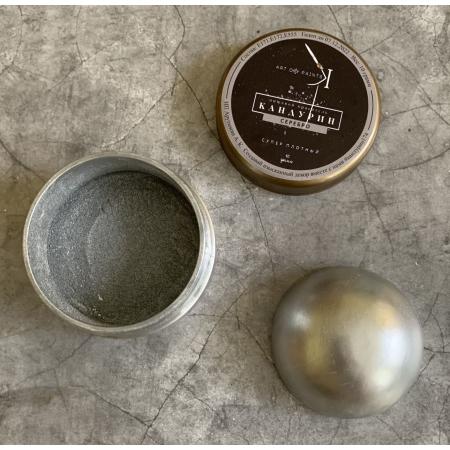 Пищевой блеск плотный Серебро 10 г