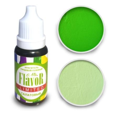 Краситель гелевый Mr. Flavor  10 г Салатовый