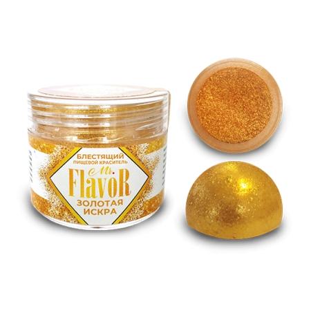 Краситель блестящий  Mr. Flavor Золотая искра 5 г