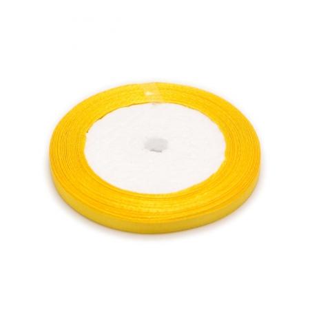 Лента атласная 0,6 см Желтая