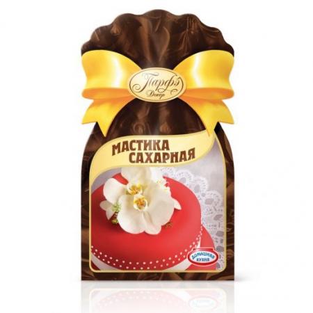 Мастика сахарная ванильная красная 150 г