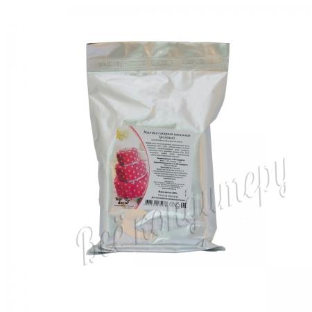 Мастика розовая 600 г Топ Продукт