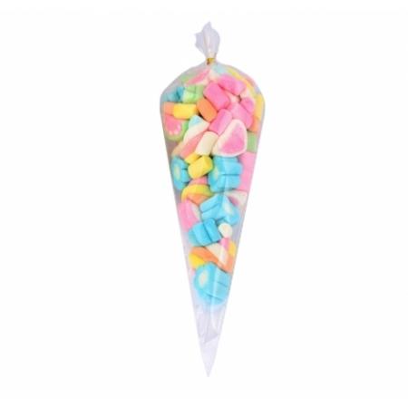 Пакеты для сладостей Конус 18х35 см 10 шт
