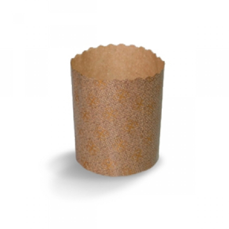 Формы бумажные для кулича 4 шт 90х90 мм