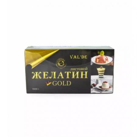 Желатин листовой Val'de Gold 50 г