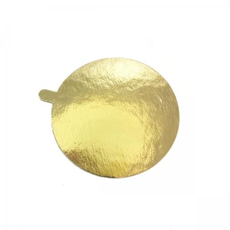 Подложка с держателем d 105 мм золото