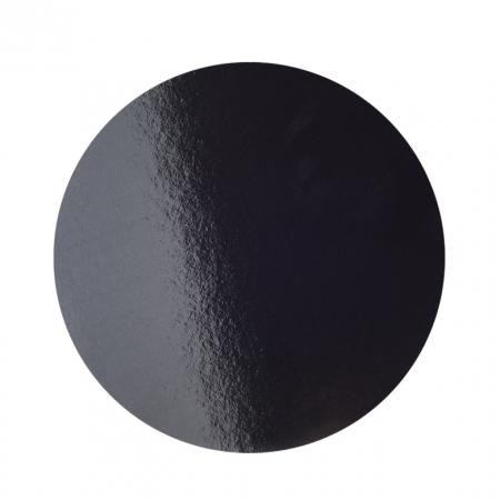 Подложка усиленная d 26 см черная/белый
