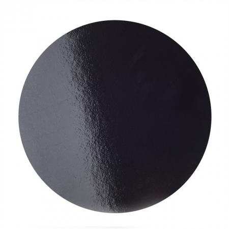 Подложка усиленная d 30 см черная/белая