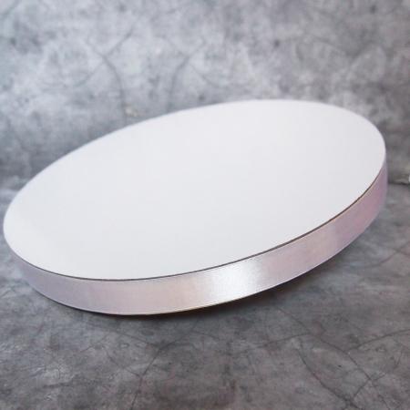 Подложка для торта усиленная 30 см белая 22 мм