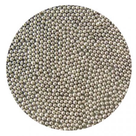 Шарики сахарные Серебро 2 мм