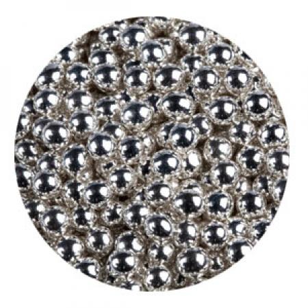 Шарики сахарные Серебро 5 мм