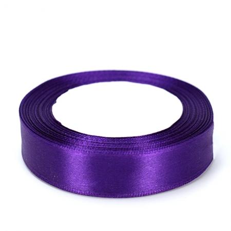 Лента атласная 2 см Фиолетовая