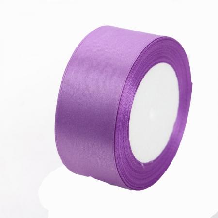 Лента атласная 4 см Фиолетовая