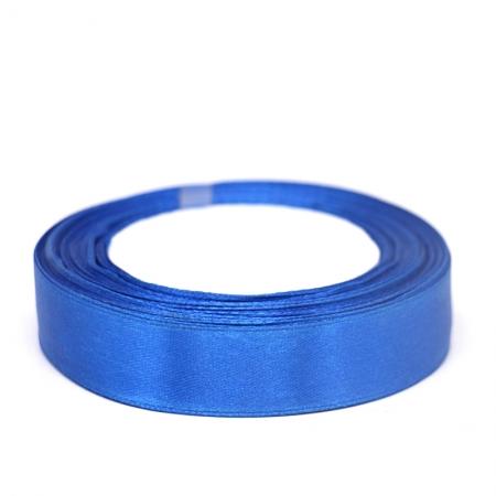 Лента атласная 2 см Синяя