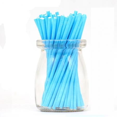 Палочки для кейкпосов 25 шт  Голубые 10 см