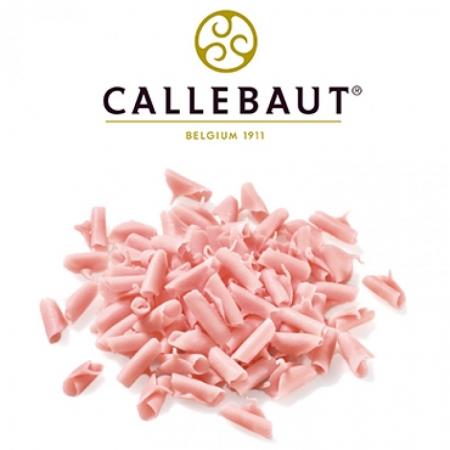 Шоколадная стружка Розовая 50 г Callebaut