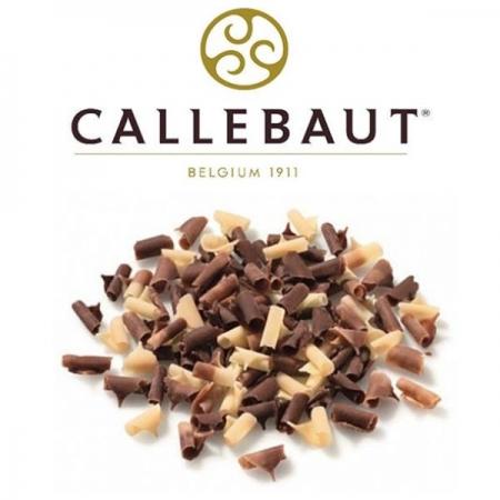 Шоколадная стружка Мраморная 50 г Callebaut