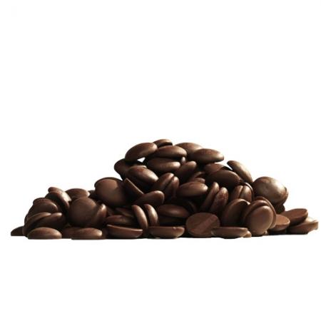 Шоколад темный (54,5%) в галетах 200 г Callebaut