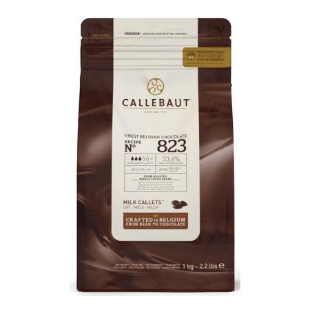 Шоколад молочный в галетах 2,5 кг Callebaut
