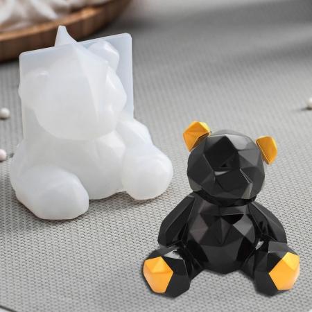 """Молд силиконовый 3D """"Медвежонок"""""""