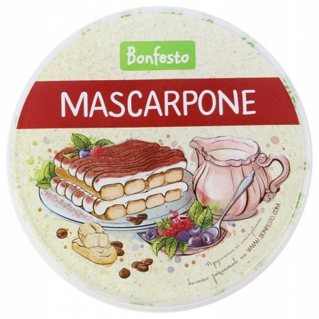"Сыр Маскарпоне 78% ""Bonfesto"" 500 г"
