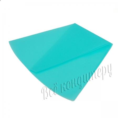 Силиконовый кондитерский мешок 40 см голубой