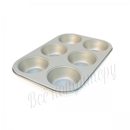 Форма для выпечки на 6 капкейков